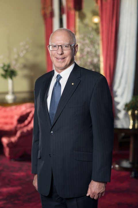 Portrait of His Excellency General The Honourable David Hurley AC DSC (Retd)