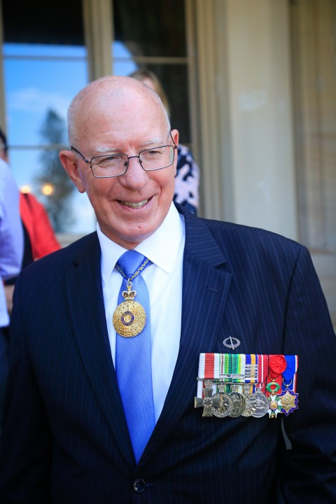 His Excellency General The Honourable David Hurley AC DSC Retd