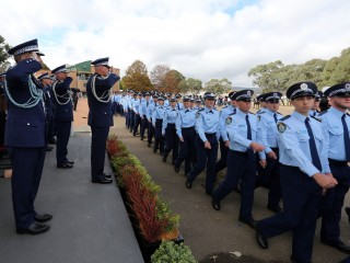 20180427 NSW Police Attestation Parade 05
