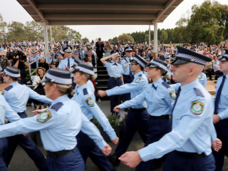 20191213 NSWPF Attestation Parade 002