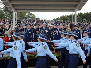 20180427 NSW Police Attestation Parade 01