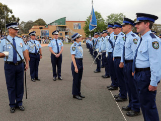 20191213 NSWPF Attestation Parade 001