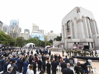 Opening ANZAC Memorial Centenary Project 007