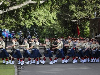 20180611 Queens Birthday Ceremonial Parade 010