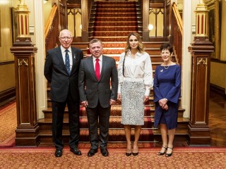 20161125 State Lunch in honour of Their Majesties King Abdullah II Ibn Al Hussein and Queen Rania Al Abdullah of The Hashemite Kingdom of Jordan 02