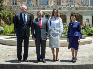20161125 State Lunch in honour of Their Majesties King Abdullah II Ibn Al Hussein and Queen Rania Al Abdullah of The Hashemite Kingdom of Jordan 04
