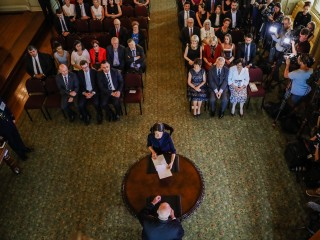 20170123 Swearing In of the 45th Premier of NSW and Deputy Premier of NSW 4