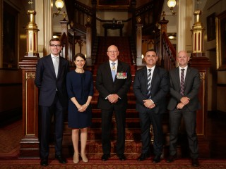 20170123 Swearing In of the 45th Premier of NSW and Deputy Premier of NSW 5
