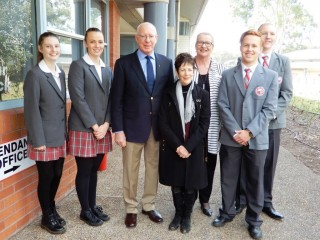 20170623 Regional Visit of Cessnock and Maitland Visit to Mount View High School 01